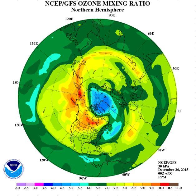 30hPa ozone 26th escape