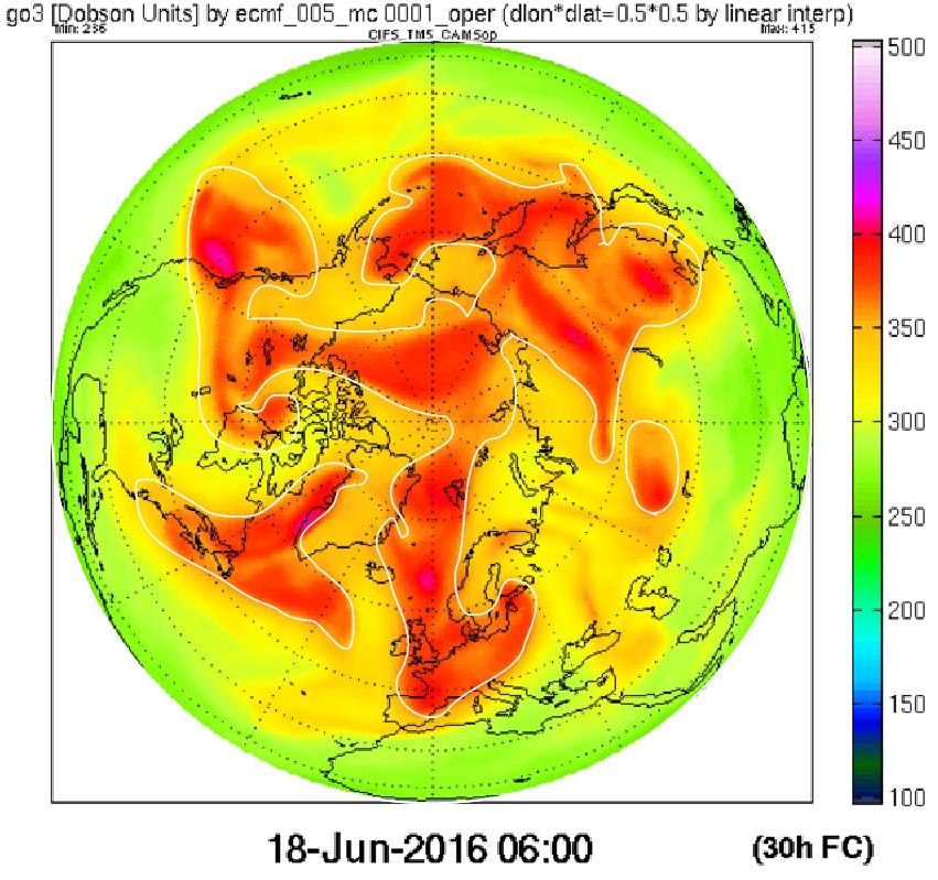 Ozone 18 June 2016