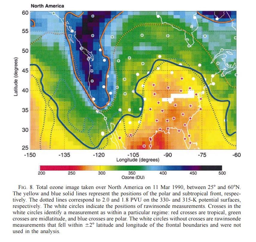 Ozone field TOMS